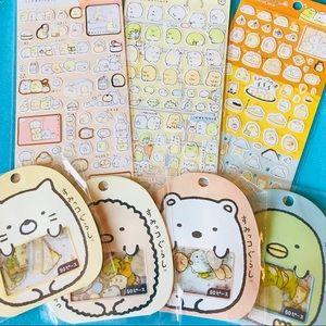 Kawaii Sumikko Gurashi Sticker Bundle